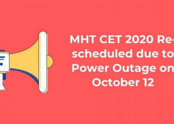 MHT-CET-2020-Re-scheduled-due-to-Power-Outage-on-October-12-Aglasem