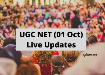 UGC NET 2020 01 Oct