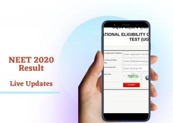 NEET 2020 Result Live Update