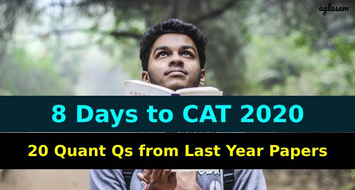 CAT 2020 8 Days Left