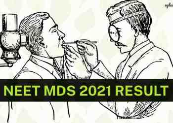 NEET MDS 2021 Result