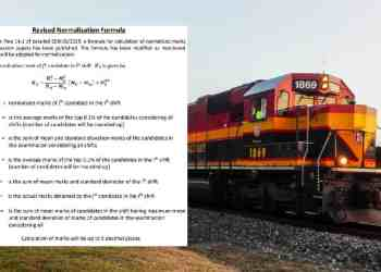 RRB NTPC Admit Card 2020 New Normalization