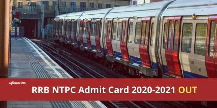 RRB NTPC Admit Card Out