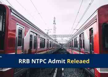RRB NTPC Hall Ticket 2020 - 2021