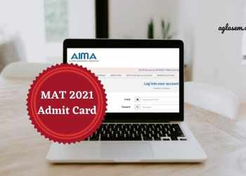 MAT 2021 Admit Card