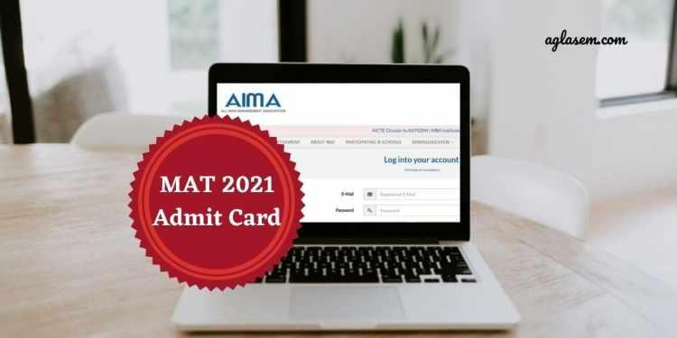 MAT 2021 Admit Card