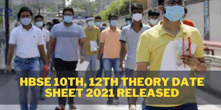 HBSE-10th-12th-Theory-Date-Sheet-2021-Released-Aglasem