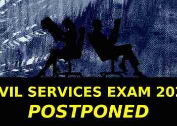 Civil Services Exam Postponed