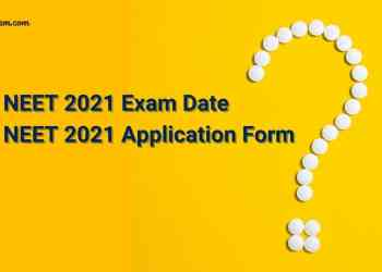 34 Days To Go for NEET 2021 and No Application Form In Sight