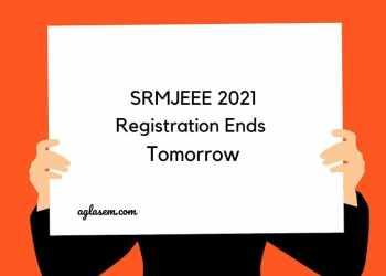 SRMJEEE 2021 Registration