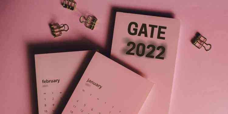 GATE 2022 Exam Date