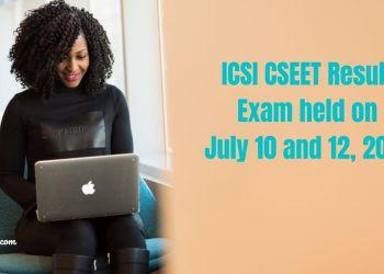 ICSI CSEET Result Tomorrow at 3 pm