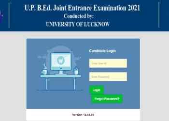UP B.Ed JEE 2021 Admit Card lkouniv