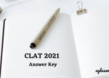 CLAT 2021 Final Answer Key