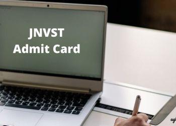 Navodaya JNVST 2021 Admit Card tomorrow on July 23
