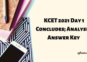 KCET 2021 Day 1 Concludes; Analysis, Answer Key Here
