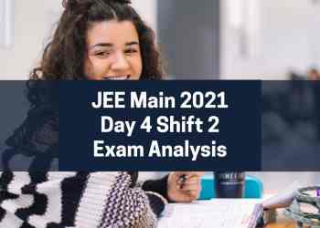 JEE Main 2021 Session 4 Day 4 Shift 2
