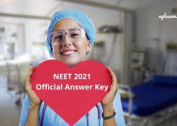 NEET 2021 Official Answer Key