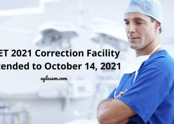 NEET 2021 Correction