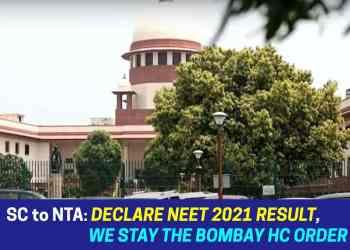 NEET 2021 Result Supreme Court